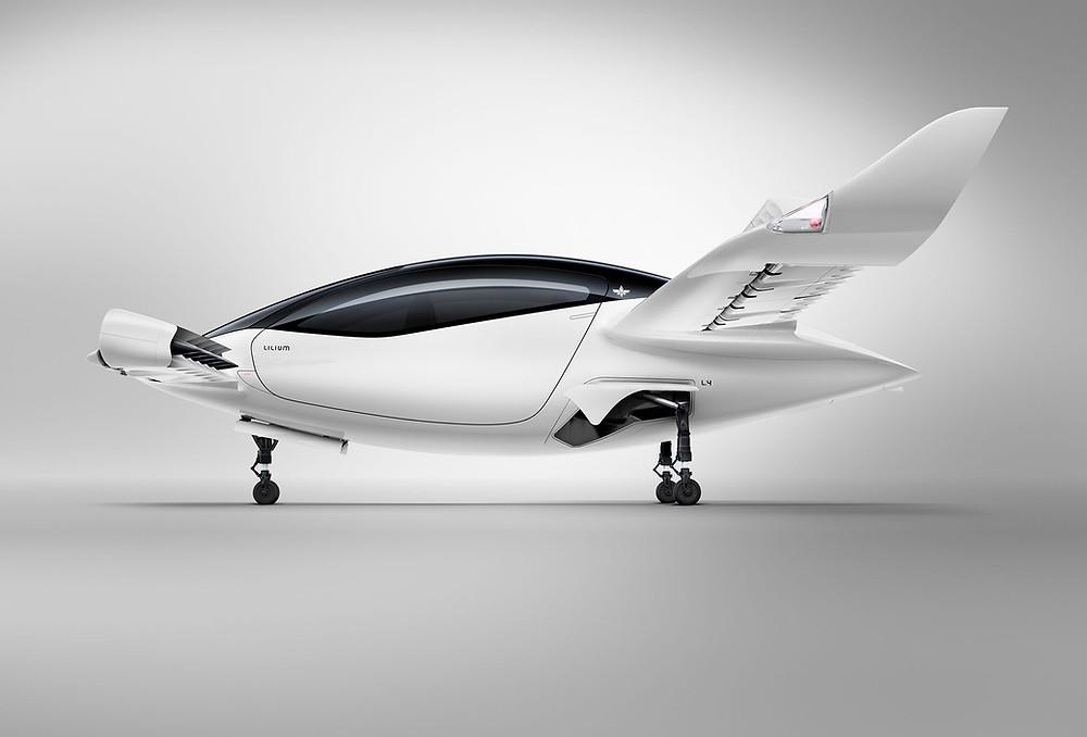 Bild3: Der Lilium-Jet (Quelle: Lilium)