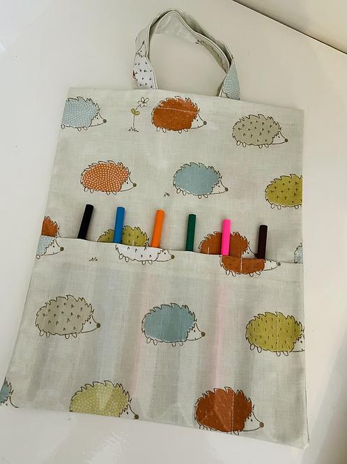 Children's colouring bag