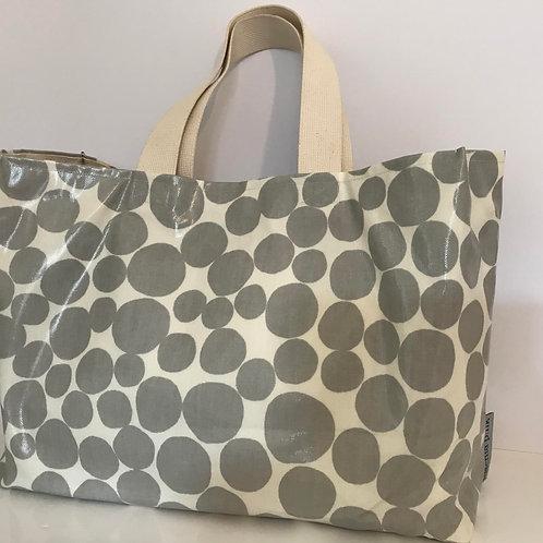Beach Bag (Grey Spots)
