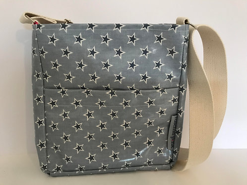 Messenger Bag (Blue Stars)