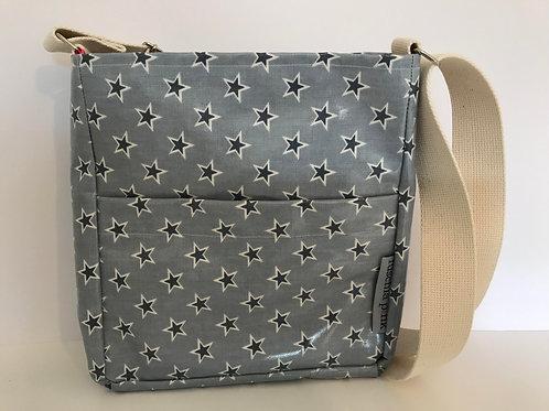 Messenger Bag (Blue Stars)
