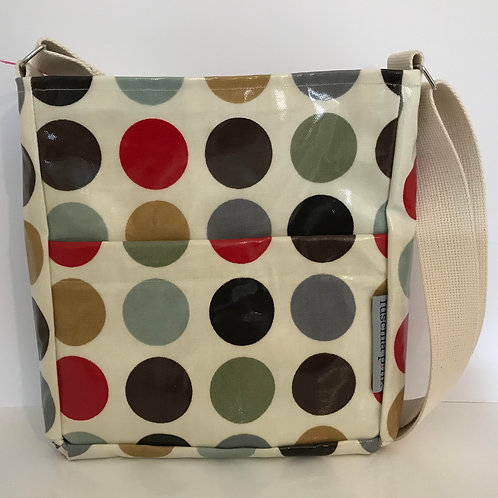 Messenger Bag (Multi Colour Spots)