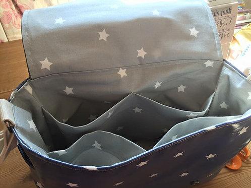 Baby Bag (Blue & White Stars)