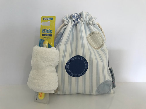 Sleep Over Bag (Stripes & Circles)