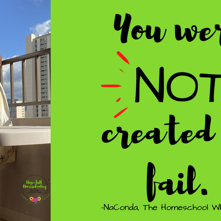 You Were NOT Created to Fail