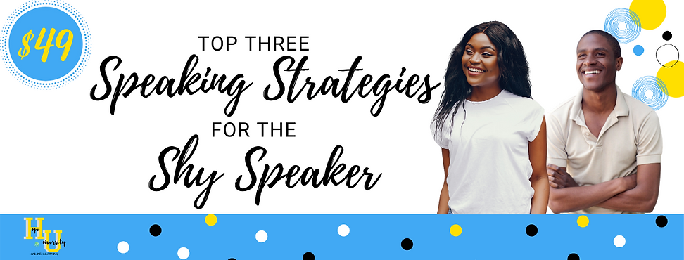 Top 3 Public Speaking Strategies for Shy