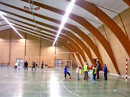 Calefacción de gimnasios, calefacción recintos depotivos, calefacción multicanchas, SBM radiantes cerámicos a gas, calefacción infrarroja a gas