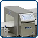 Detector de metales Cassel BD para cinta transportadora especial para productos envasados y no envasados