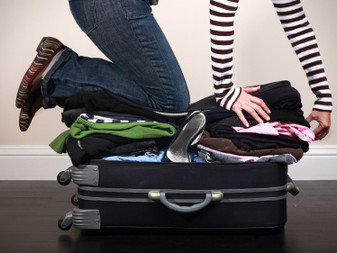 Time to get packin'! New school JITTERS.