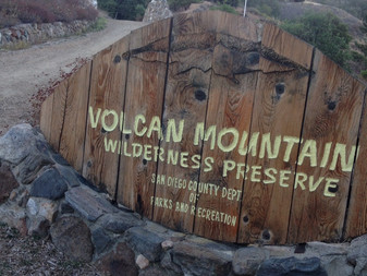 Volcan Mountain Wilderness Reserve (SoCal)