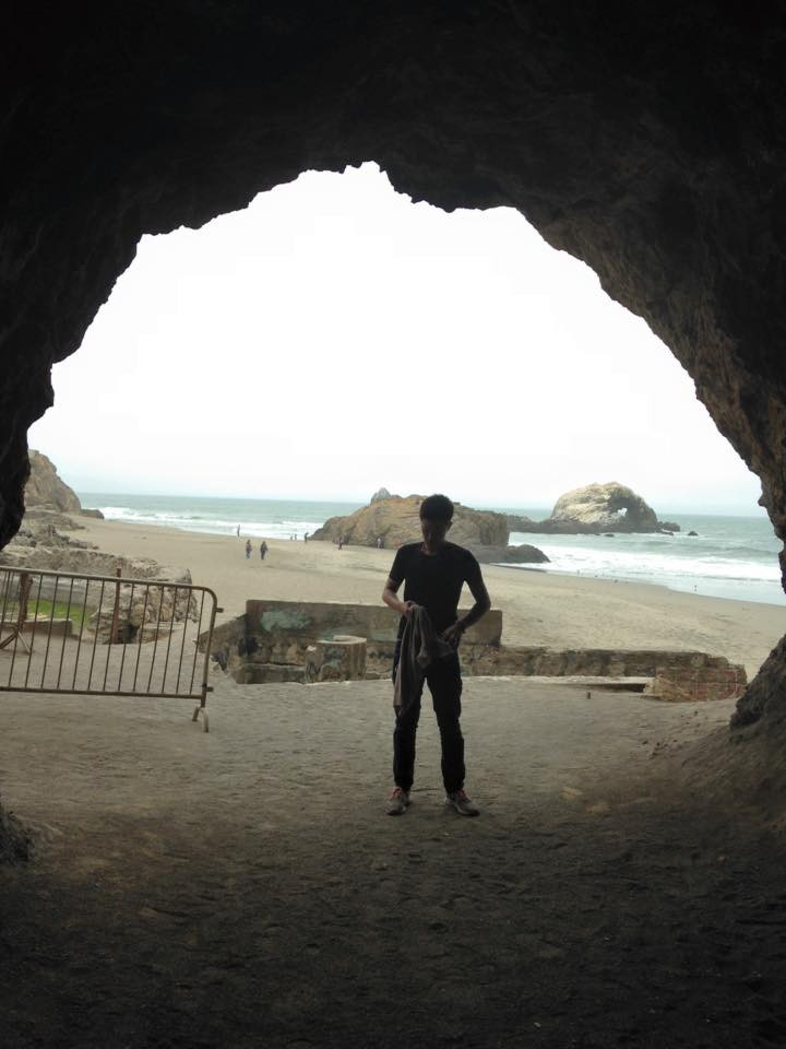Cave by Mile Rock Beach