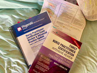 Officially Meagan, FNP-BC ! ~tips & tricks for FNP boards studying~