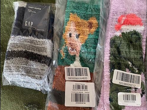 3 Pairs Cozy Socks NWT