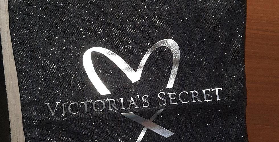 Victoria's Secret glitter Fashion Show Tote (BLACK)