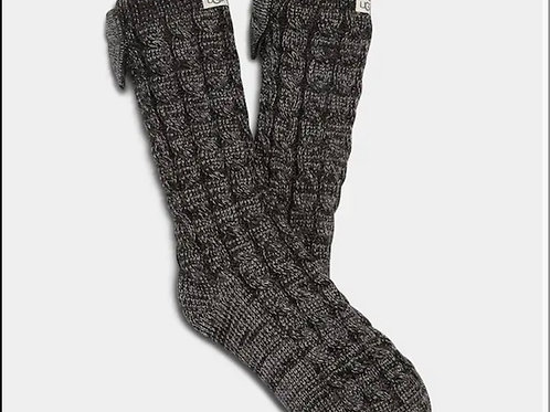 UGG Laila bow fleece lined boot socks NIP