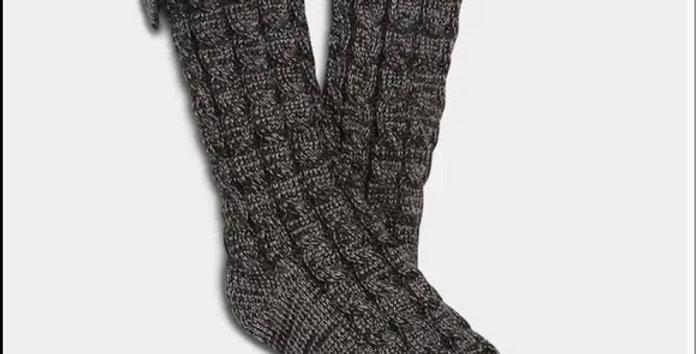 UGG Laila bow fleece lined boot socks NIP