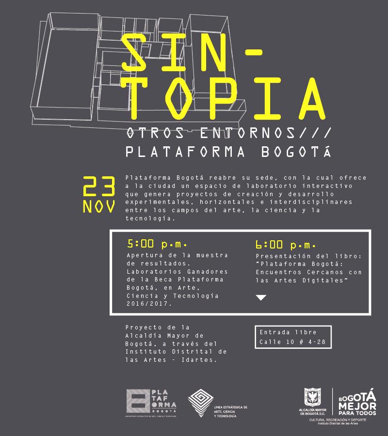Sintopia por Plataforma Bogotá