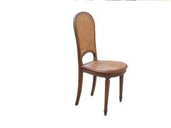 chaise ancienne cannée