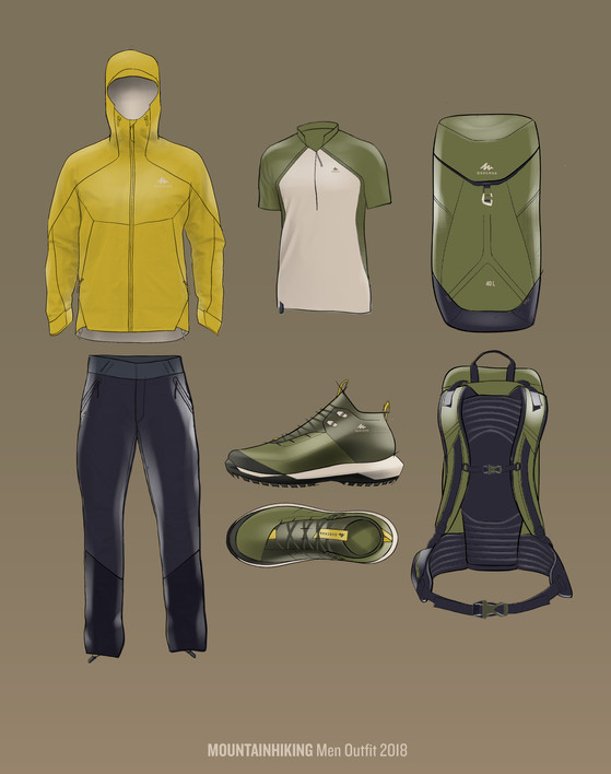 Mountain Hiking Design guidelines
