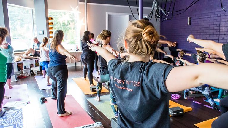 Weekly Community Yoga at Space Yoga Studio