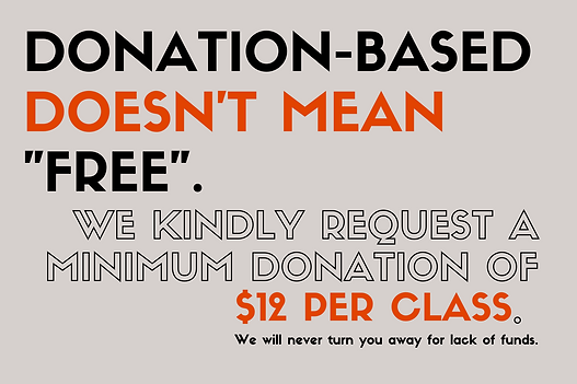 DONATION-BASED DOESN'T MEAN %22FREE%22.-
