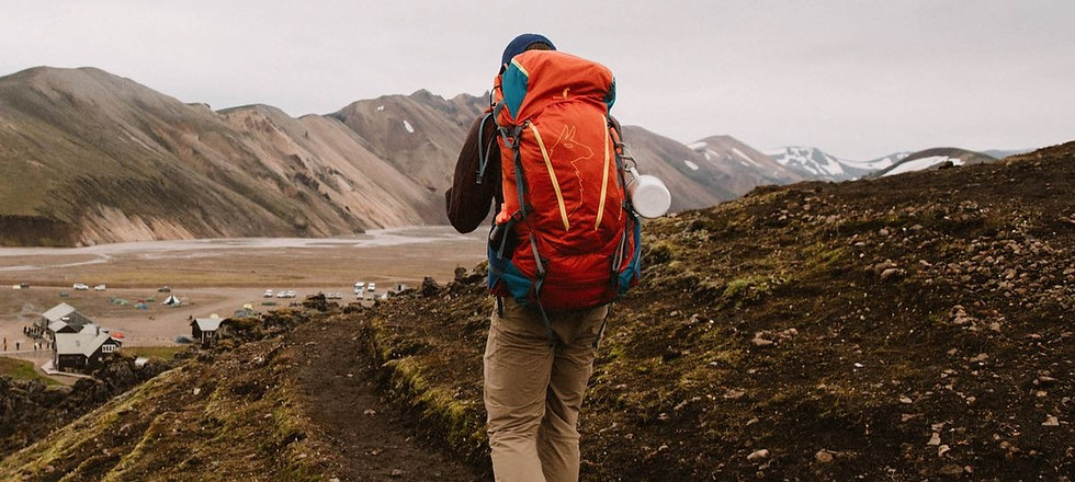 Hiking mountain