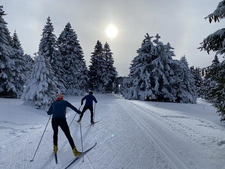 Back to slopes.