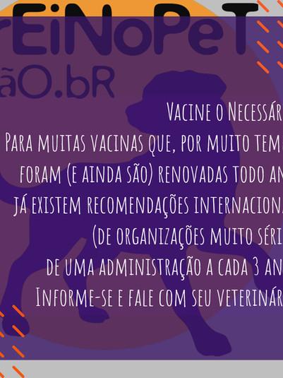 dica sobre vacinação de cães