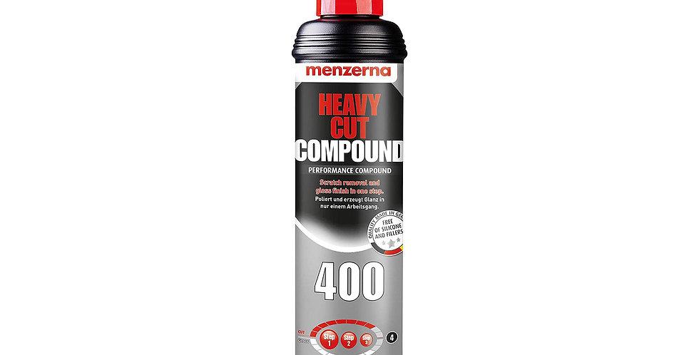 Poliravimo Pasta Menzerna 400 Heavy Cut Compound 250ml