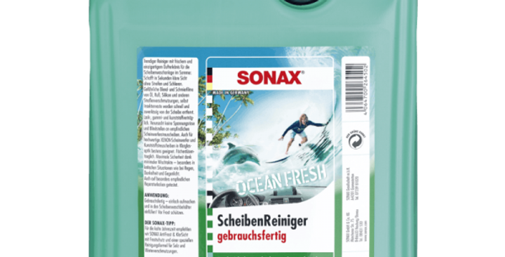 Langų plovimo skystis Ocean Fresh Sonax 5L