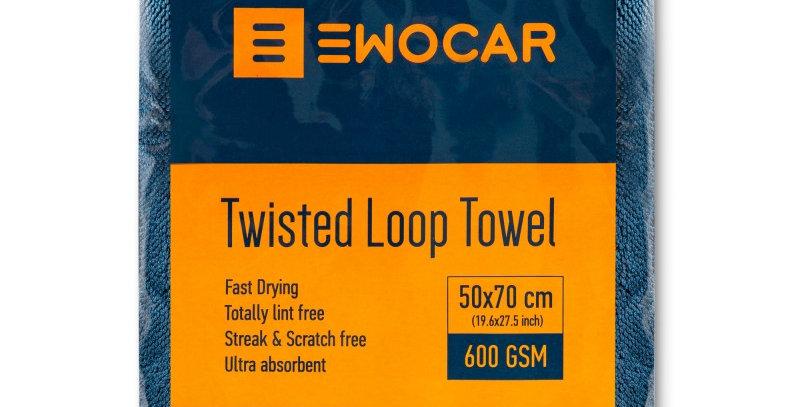 Sausinimo šluostė Ewocar Twisted Loop 50x70 cm