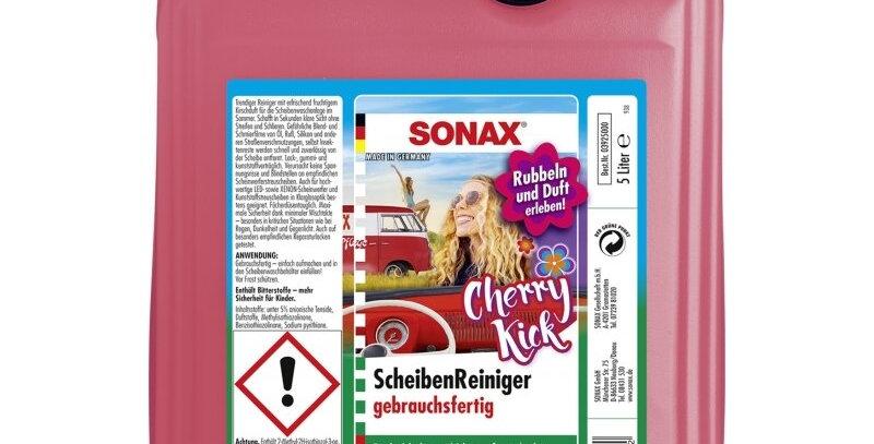 Langų plovimo skystis Sonax Cherry kick 5L