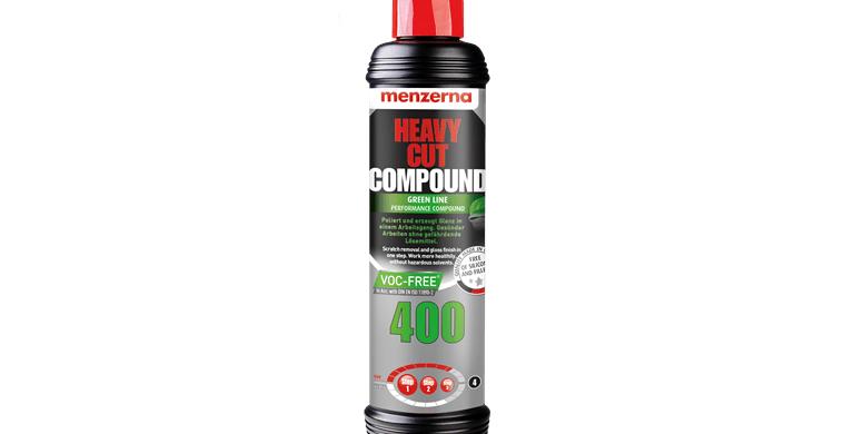 Poliravimo Pasta Menzerna 400 Heavy Cut Greenline 250 ml