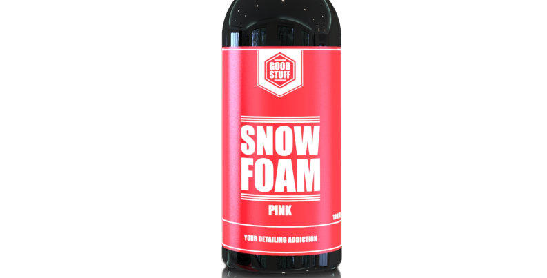 Aktyviosios Putos GOOD STUFF Snow Foam Pink