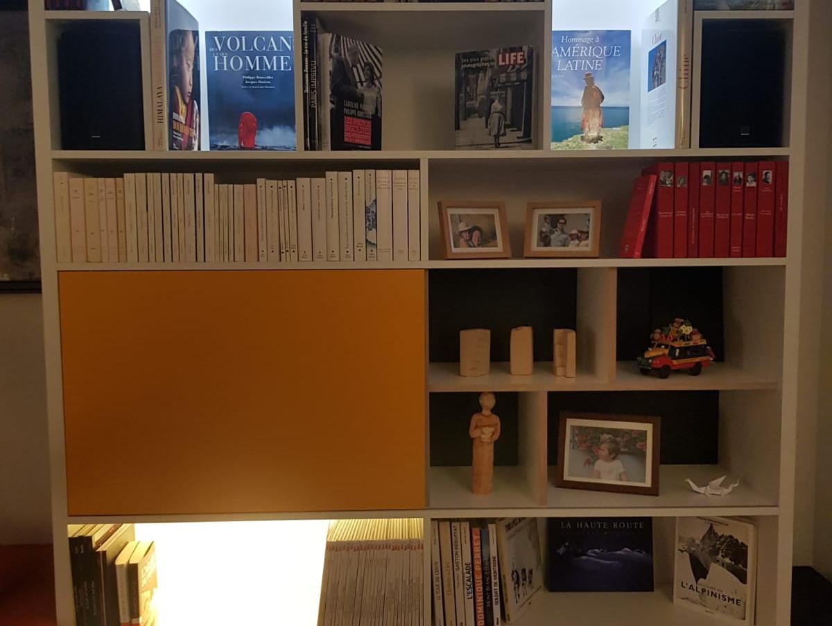 Bibliothèque & banquette