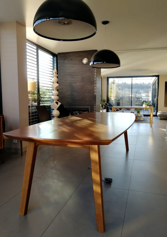 Table style scandinave 1950