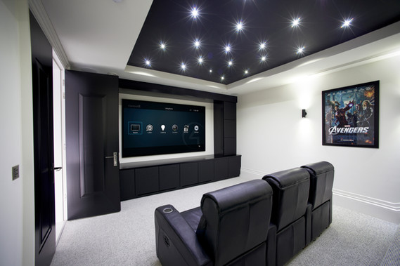 Home Theater using Control4 Integration