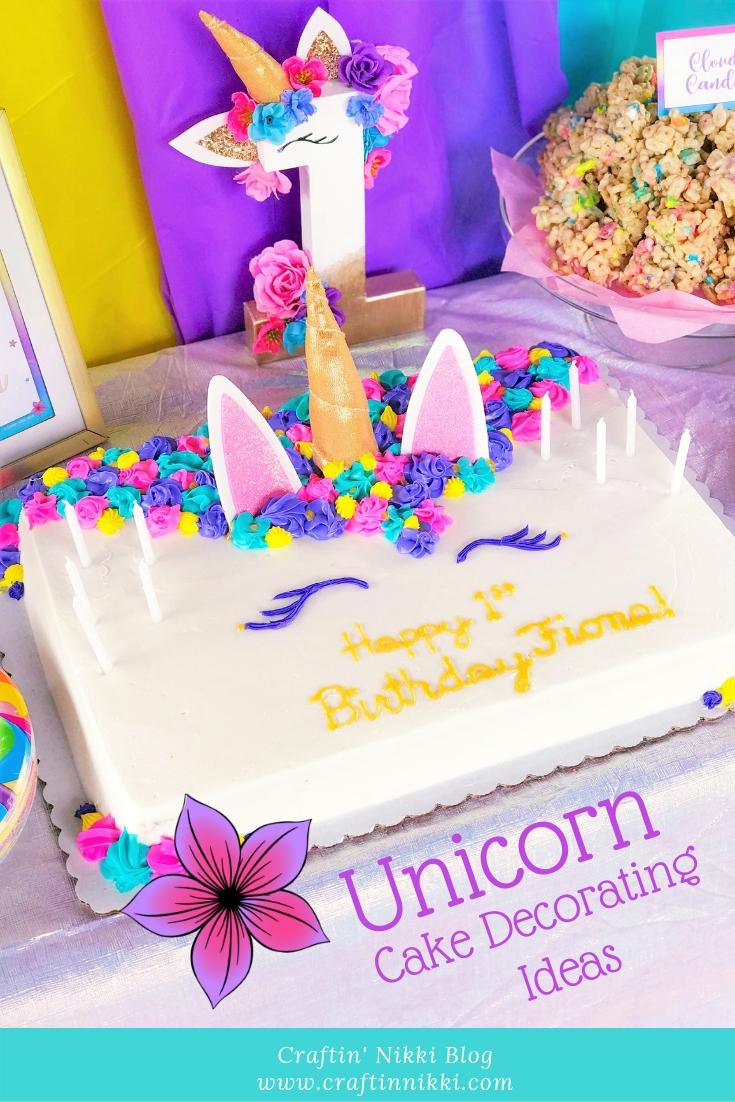 Make Your Very Own Unicorn Cake