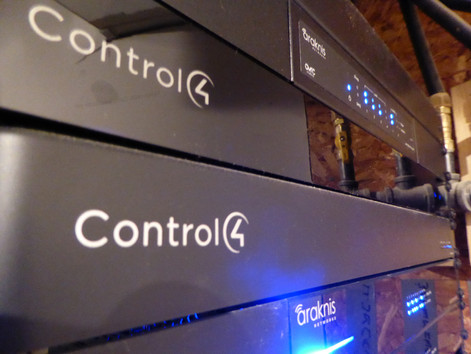 Control4 Controllers & Araknis Routers