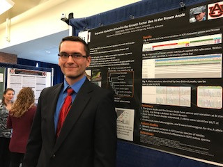 Great Job, Shawn and Emma, Presenting at Undergraduate Research Day!
