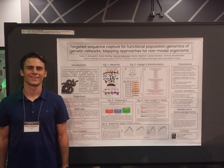 Randy presents our Sequence Capture Research at the Herp Meetings!