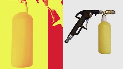 Пенный пистолет X-Foamer для клининга, пищевого производства, HoReCa, HACCP