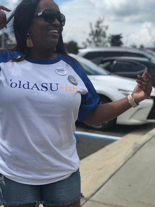 oldASU-ish Baseball Raglan T-Shirt