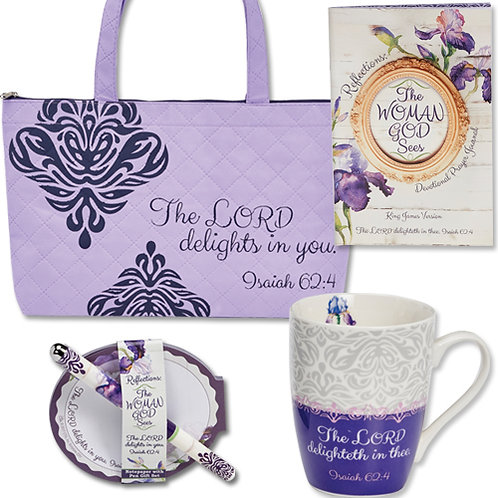 The Lord Delights in You gift set