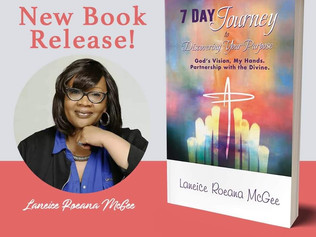 """Author, Motivational Speaker Laneice McGee Launches First Solo Book """"7 Day Journey 𝑡𝑜 𝐷𝑖𝑠�"""