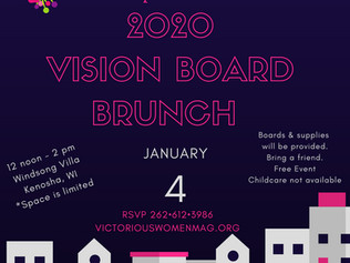 2020 Vision Board Brunch