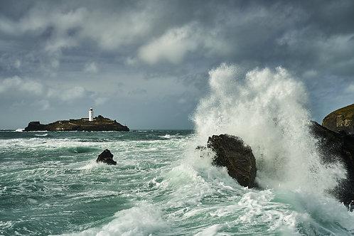 St Ives Splash - A3