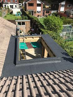 Brosley Roofing Torch on felt