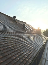 NEW BUILD tiled roof