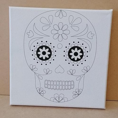 Skull canvas 1